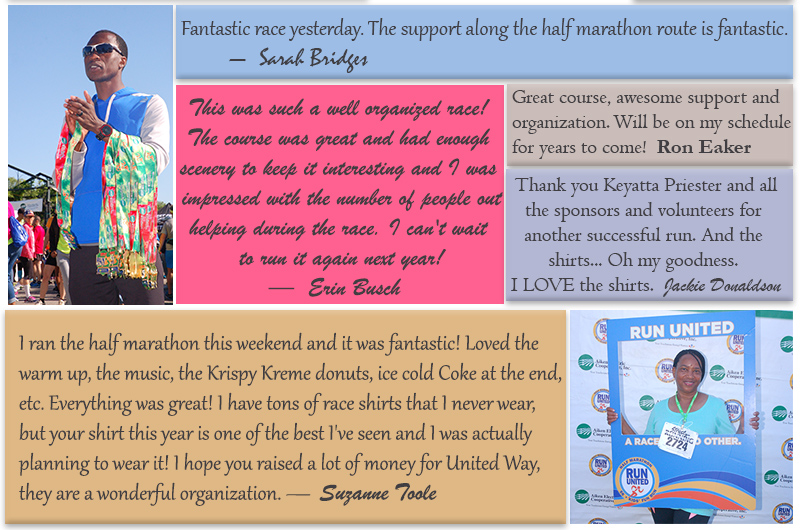 Testimonials from Run United